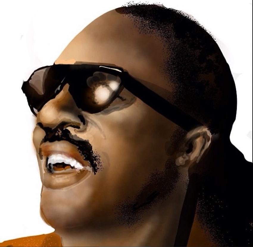 Stevie Wonder por PapaOjam